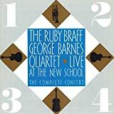 Ruby Braff & George Barnes, Live at the New School