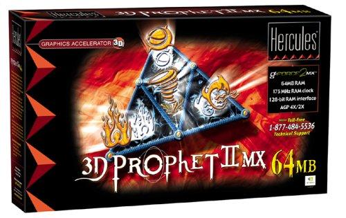 Hercules 3D Prophet II MX Graphic Card