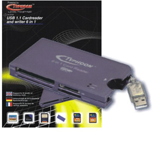 Typhoon Cardreader 6 In 1 USB 1.1