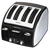 Tefal Polished Avanti 4 Slice Toaster