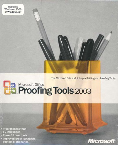 Office Proofing Tools 2003