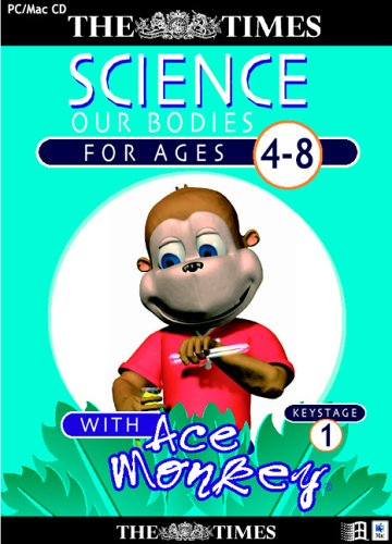 The Times Ace Monkey Key Stage 1 Science (Ages 4-8)