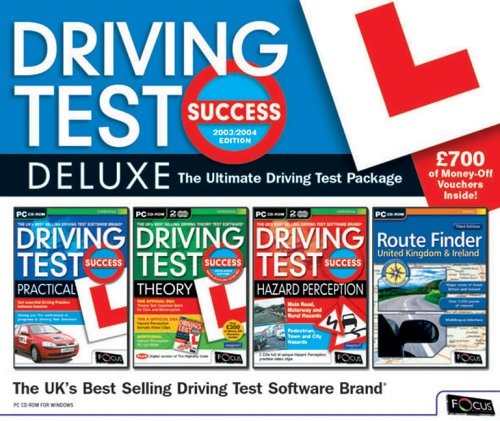 Driving Test Success DELUXE 2003/2004 Edition (4 CD SET)