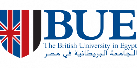 The British University in Egypt logo