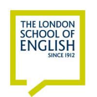 The London School of English logo