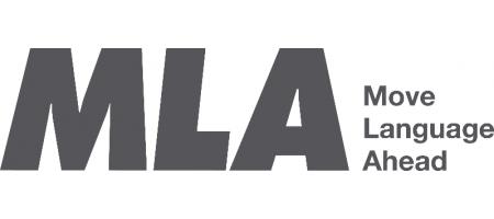 MLA Move Language Ahead logo
