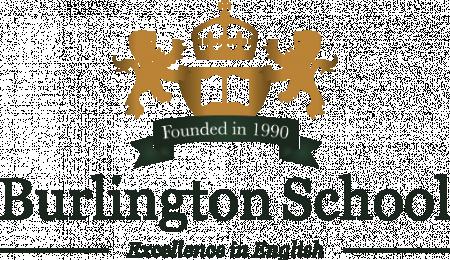 The Burlington School of English logo
