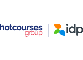 Hotcourses Group & IDP logo