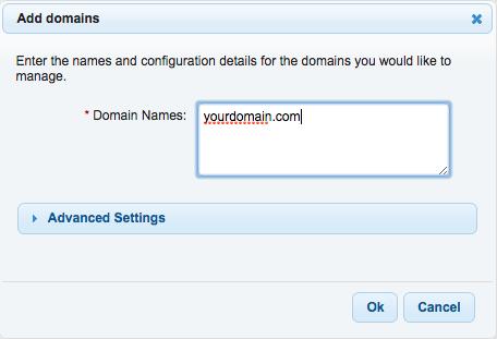 DNSMadeEasy - Add domains