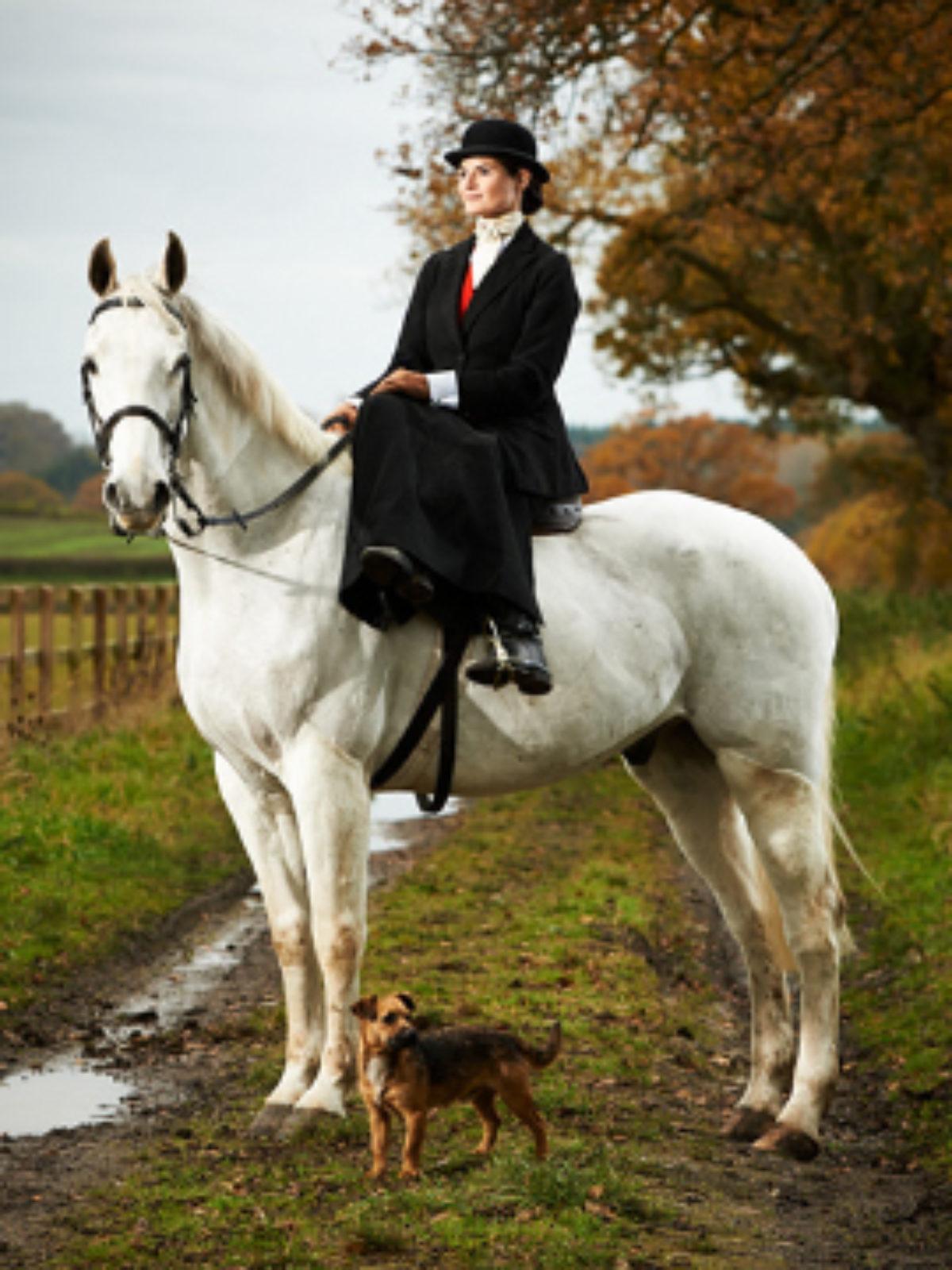 Pip Howeson On Horseback