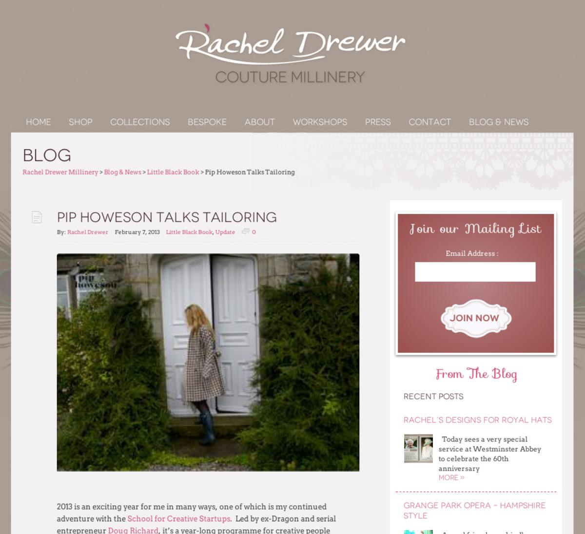 Rachel Drewer Screen Shot