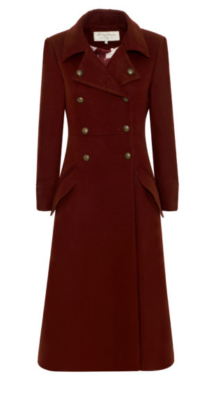 Pip Howeson Coat Front