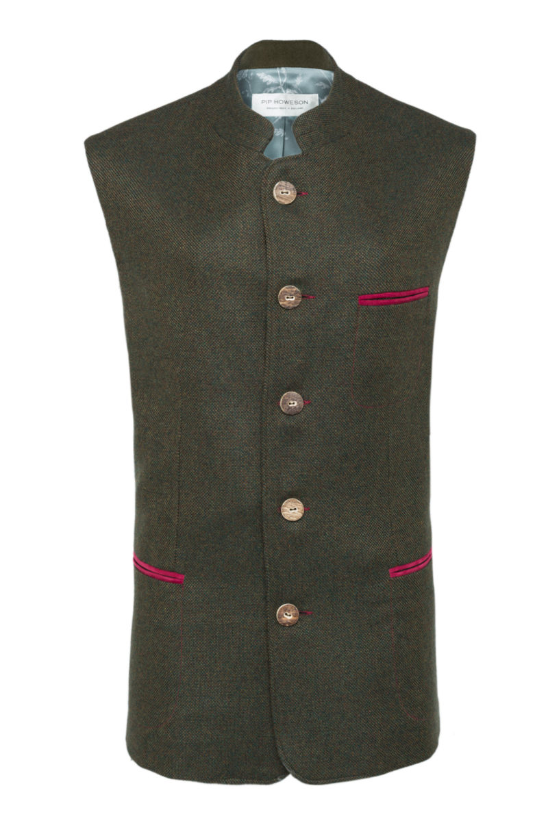 Pip Howeson Mens William Waistcoat Front