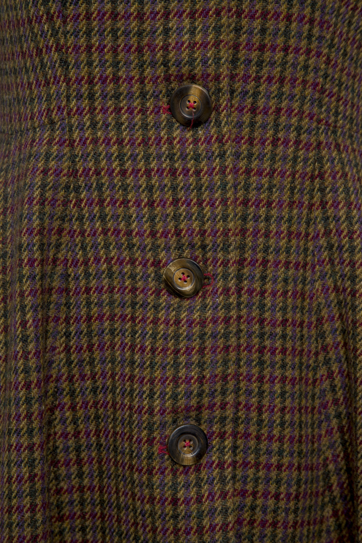 Pip Howeson Mary Coat Button Detail