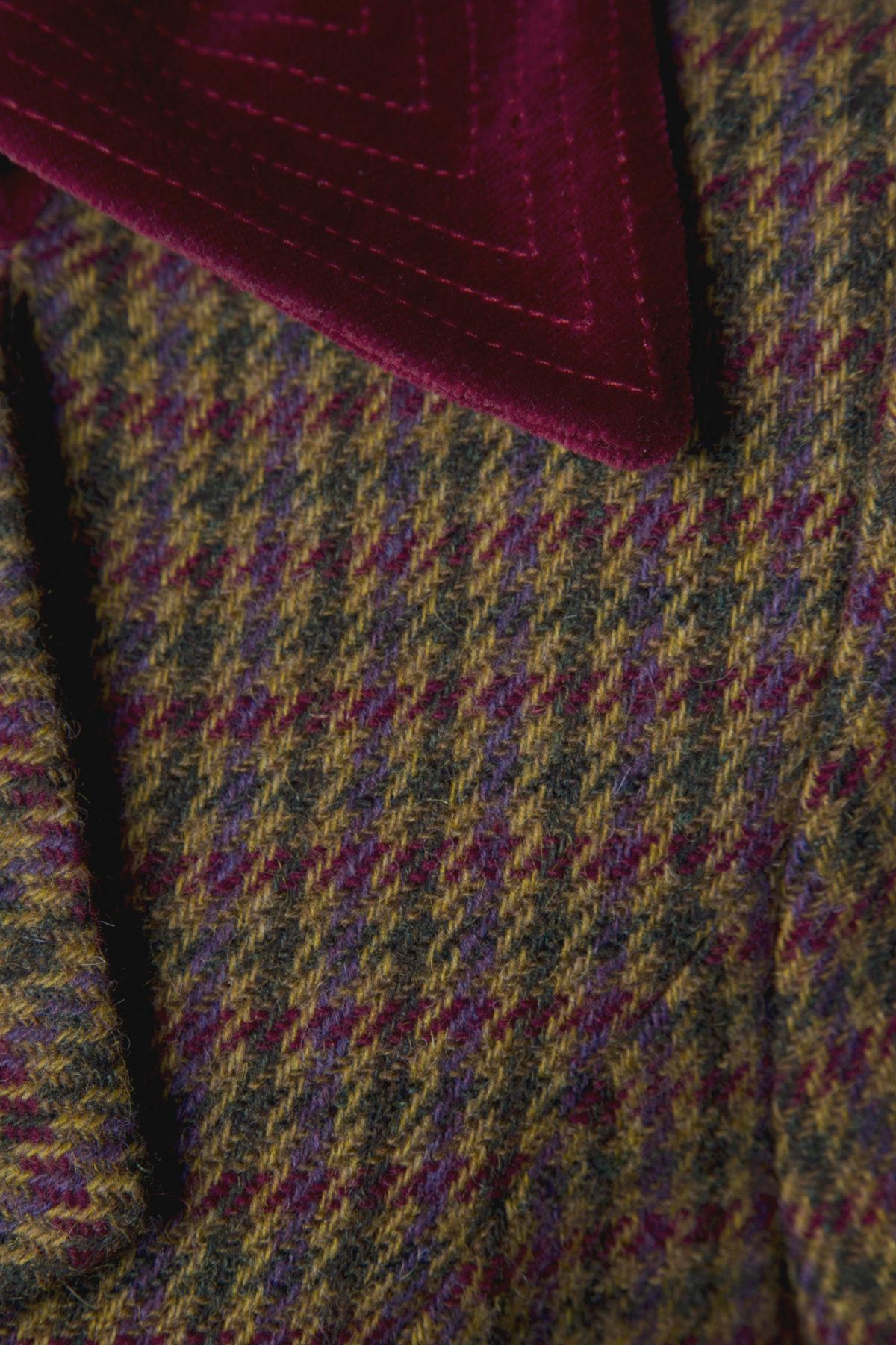 Pip Howeson Mary Coat Velvet Collar