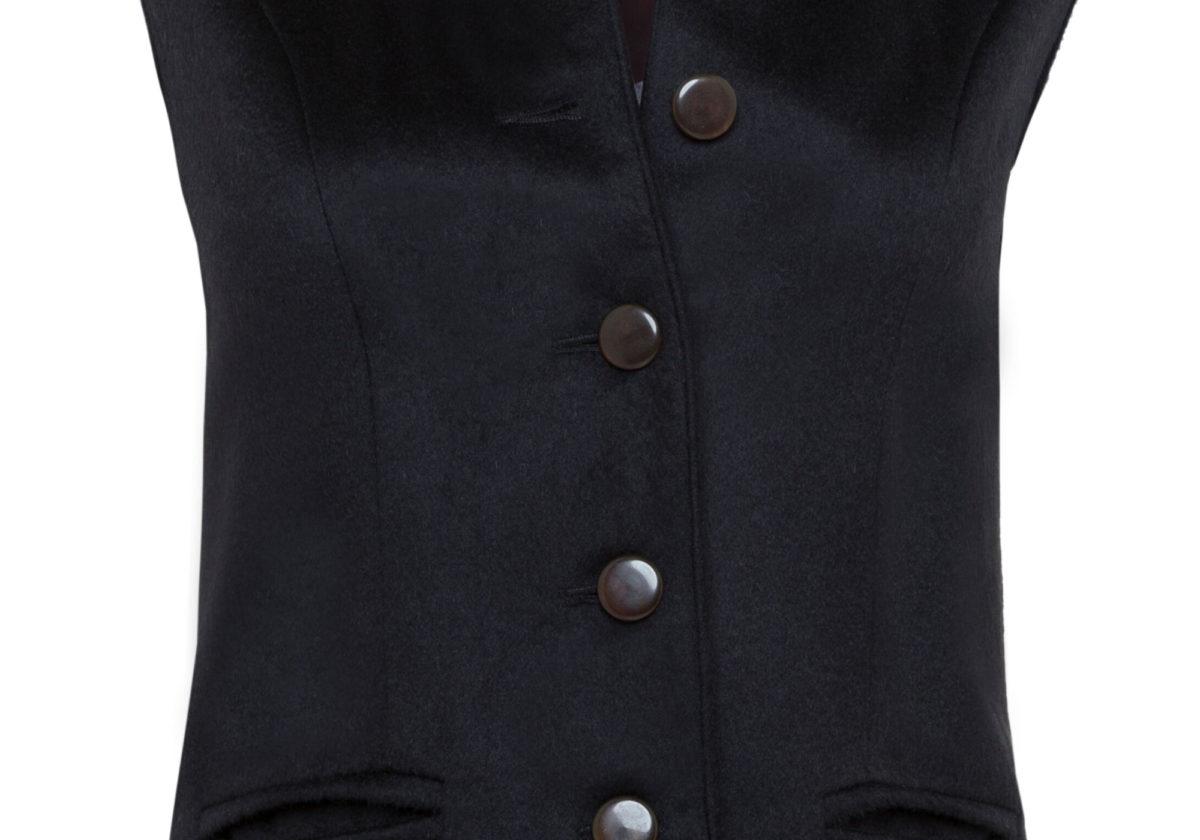 Pip Howeson Annie Waistcoat Button Detail