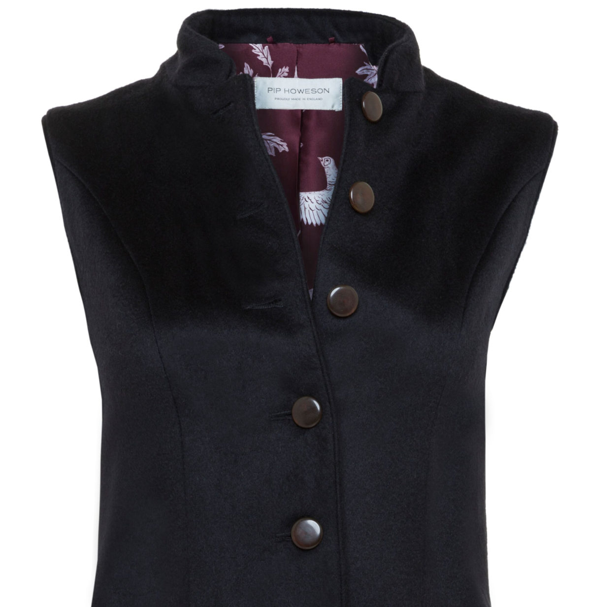 Pip Howeson Annie Waistcoat Open Bust
