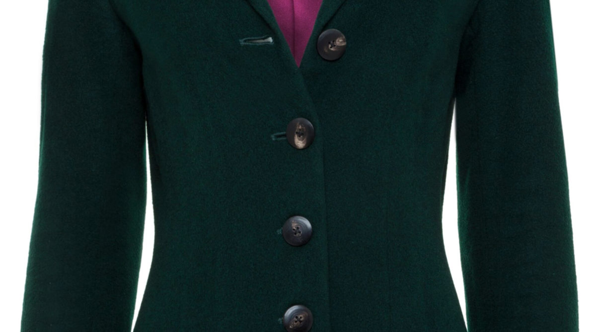 Pip Howeson Cecily Coat Button Detail