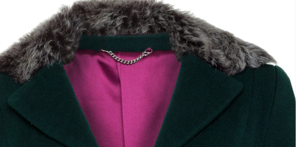 Pip Howeson Cecily Coat Collar