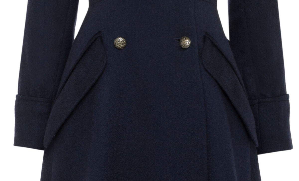 Pip Howeson Margot Coat Waist Detail