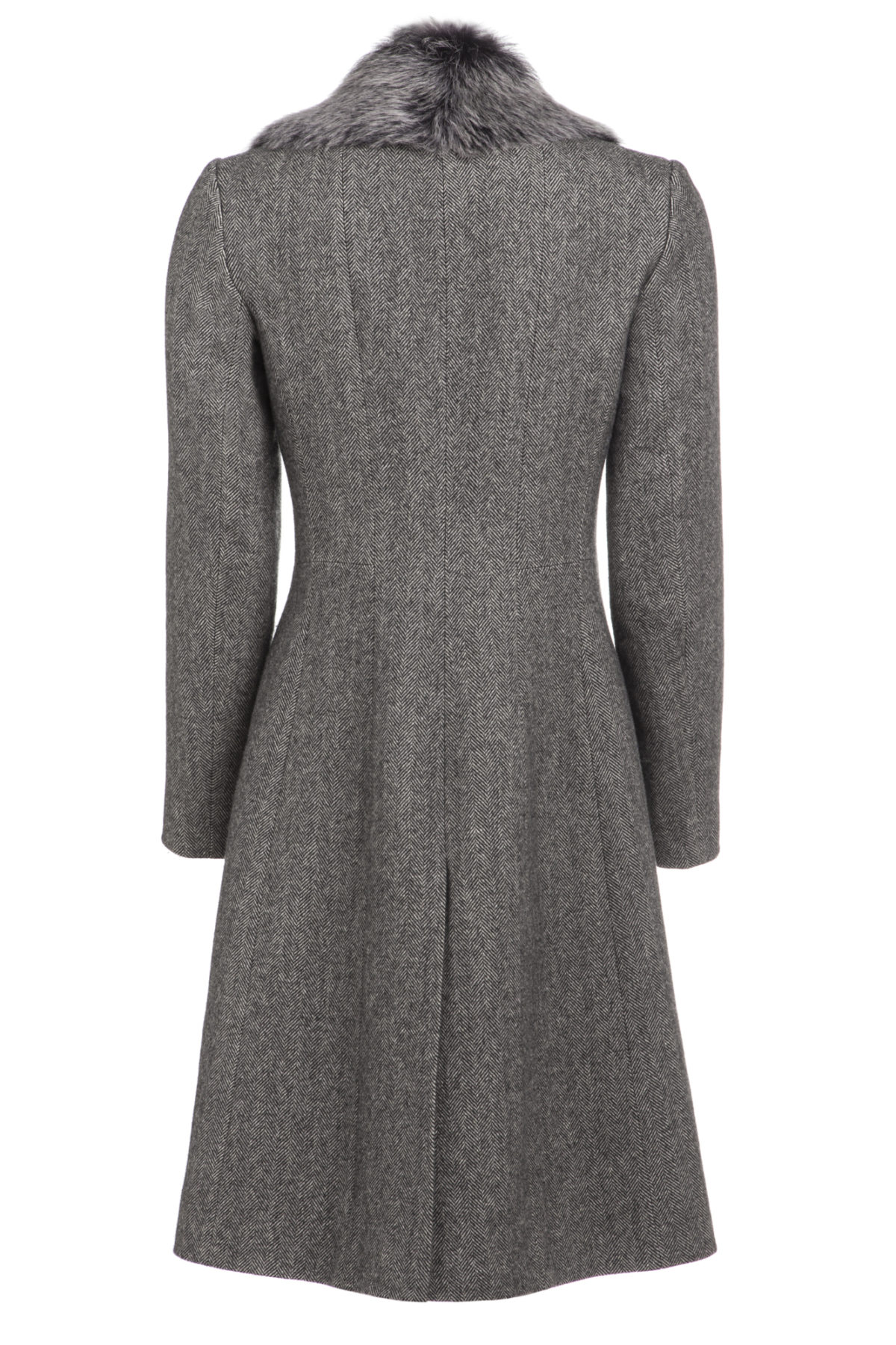 Pip Howeson Carolina Coat Cashmere Back