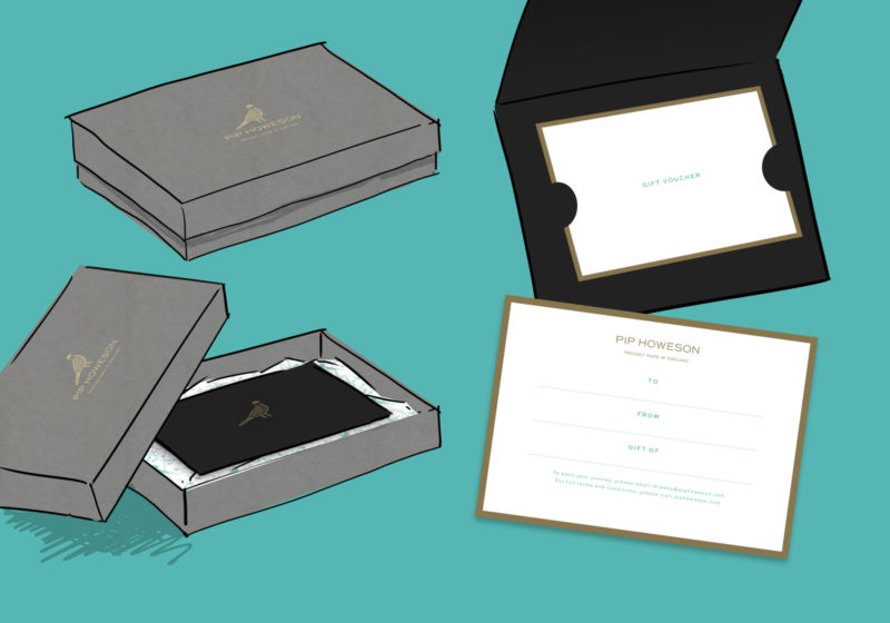 Pip Howeson Gift Voucher Design Visual Illustrated