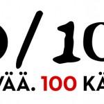 100/1000 -kampanjalogo