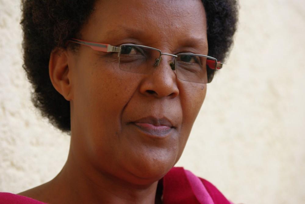 Burundin Pipliaseuran pääsihteeri Marjorie Niyungeko.