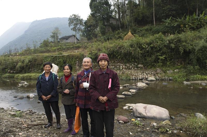 Kiinan maaseudulla