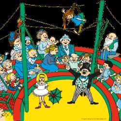 Cirkusföreställning förhandsvisning