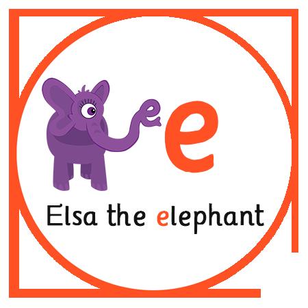 E elsa the elephant