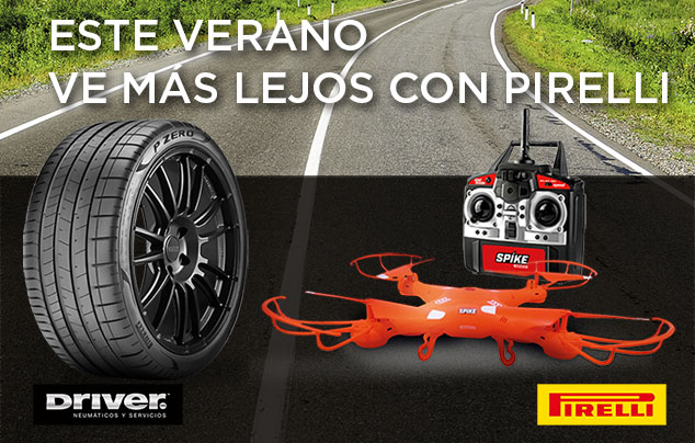 [DRIVER ES] Sell Out Pirelli Drones