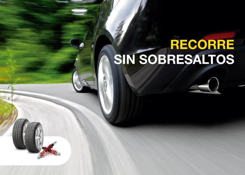Driver - Neumáticos + Amortiguadores