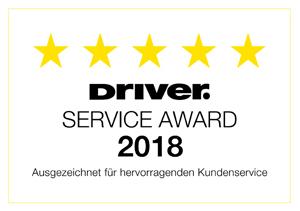 Driver Service Award 2018