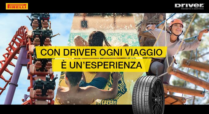 CON DRIVER OGNI VIAGGIO E' UN'ESPERIENZA