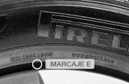 Marcaje del neumático homologado