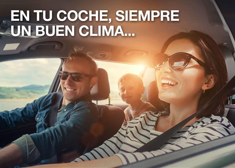 En tu coche, siempre un buen clima con Driver Center