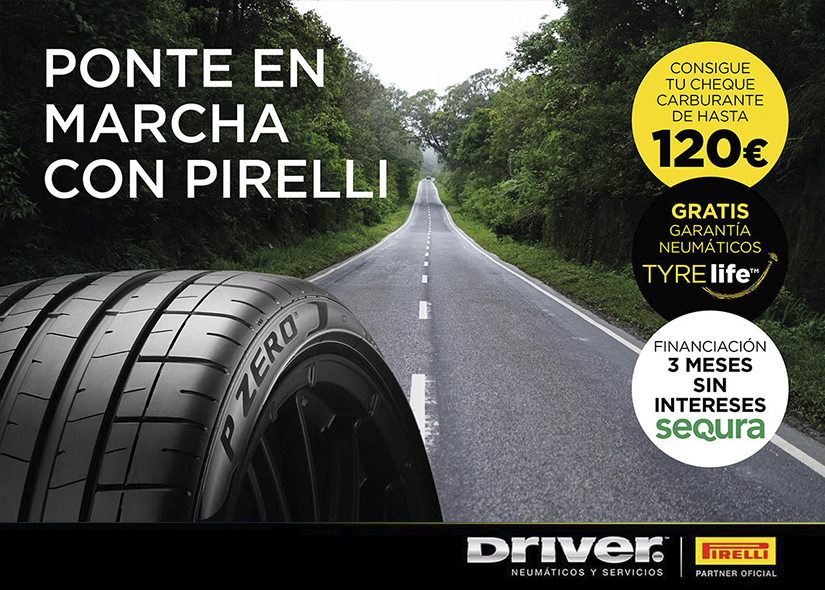 Promoción Pirelli 2020
