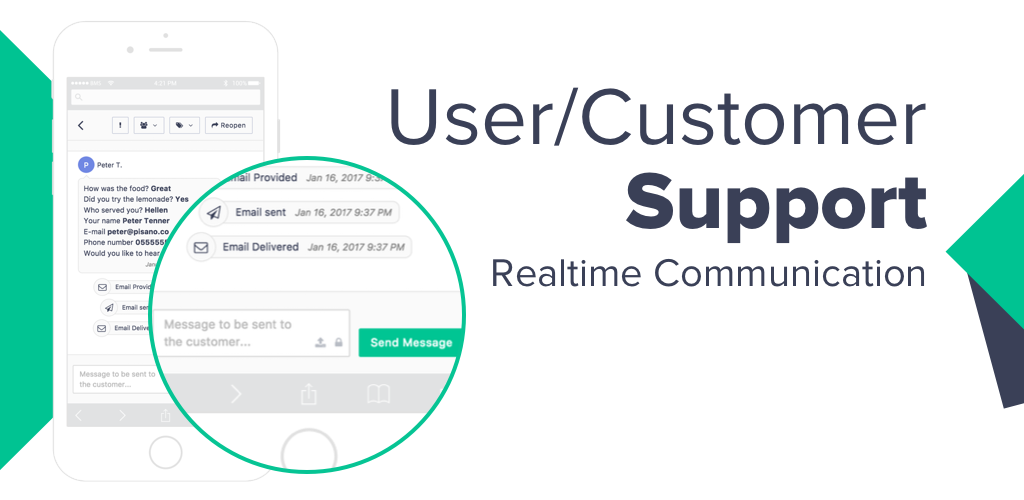 User/Customer Support
