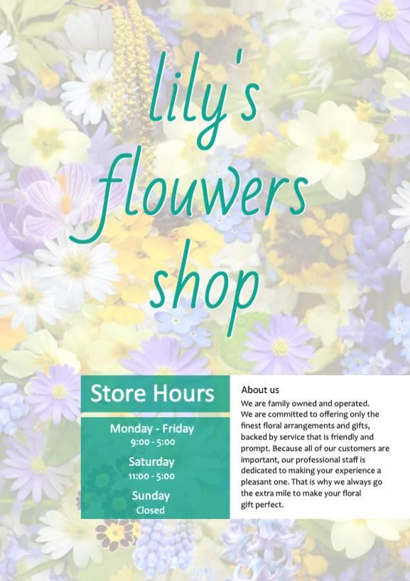 Flowers _ Basic 001 _ 1P