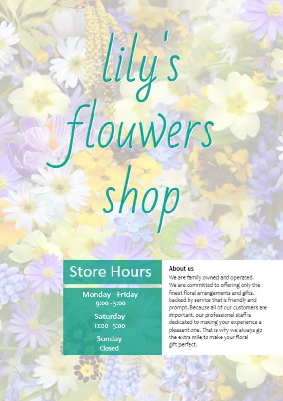 Flowers _ Basic 002 _ 1P
