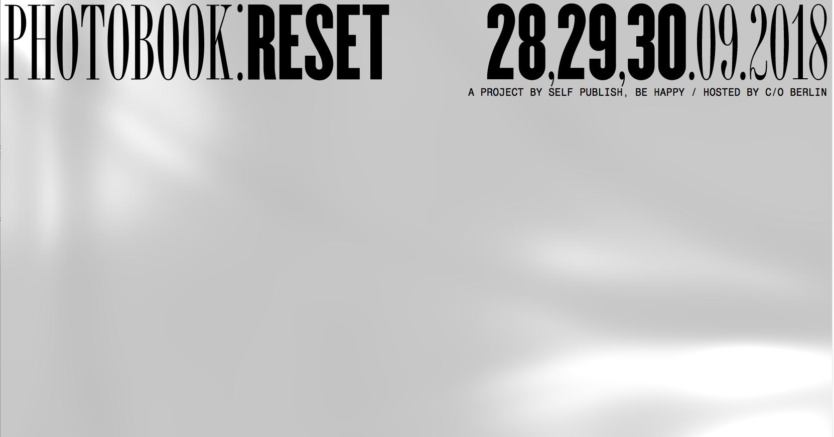 Photobook reset