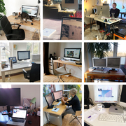 Homeoffices plain