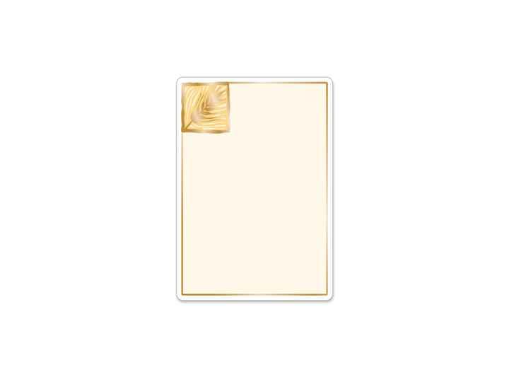 BAK003 Bakers Gold Large Roll Label