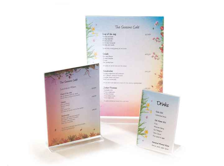 SEA001 - Seasons A4 3in1 Menu Paper