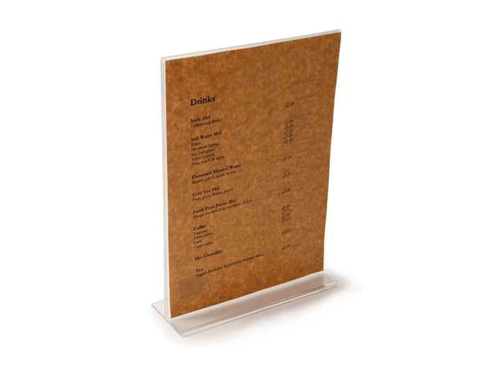 SIM005 - Simply Natural A4 Menu Paper