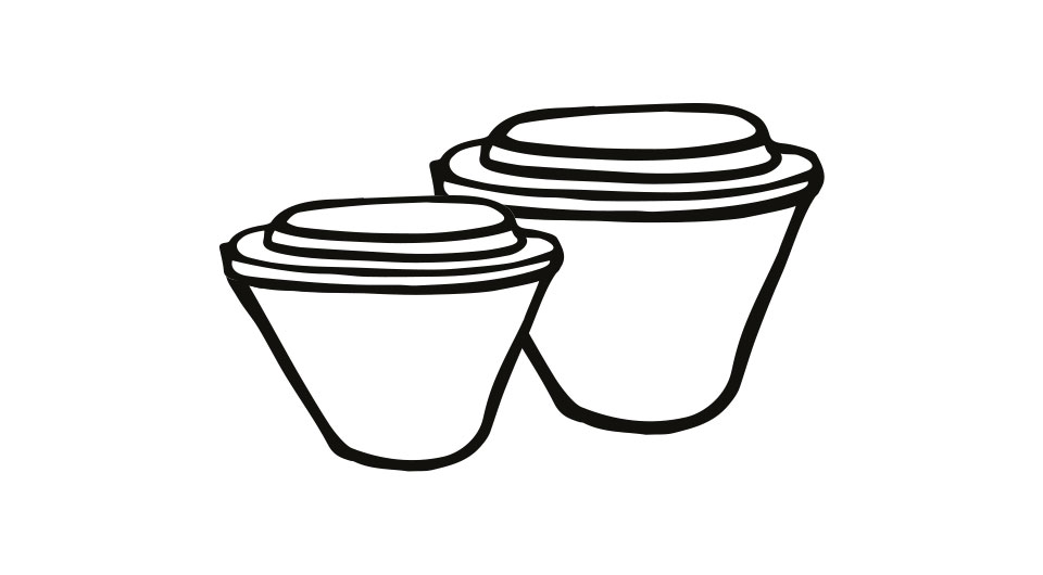 Takeaway Tubs, Eco Pots and Lids