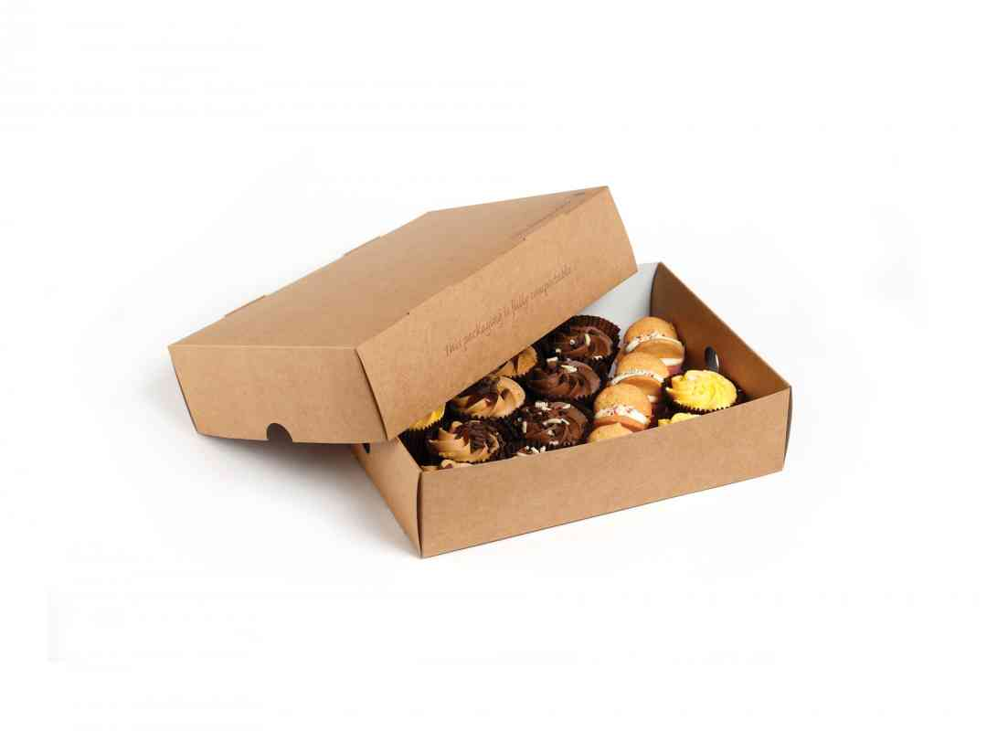 NAT014 - Natural Medium Platter Box