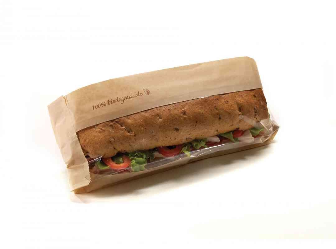 NAT005 - Natural Baguette Bag