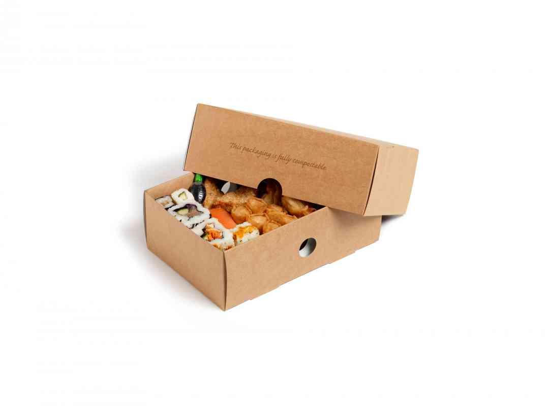 NAT015 - Natural Small Platter Box